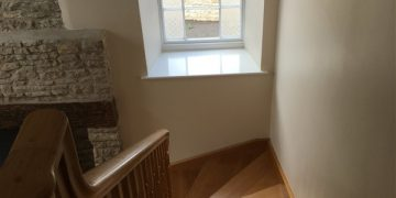 Internal and external decoration of property at Upton Cheyney, Bristol
